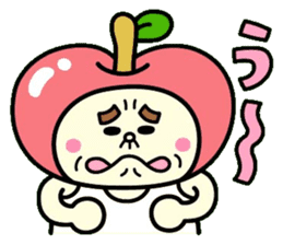 Fairy apple sticker #438564