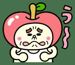 Fairy apple sticker #438564