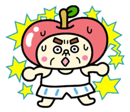 Fairy apple sticker #438565