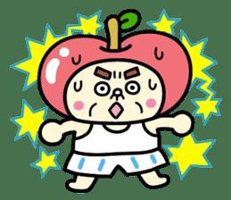Fairy apple sticker #438565