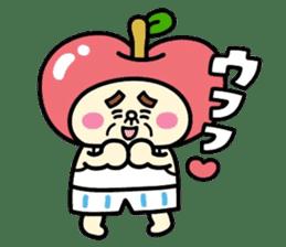 Fairy apple sticker #438567