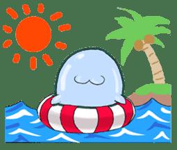 sea cucumber boys & sea cucumber girls sticker #439172