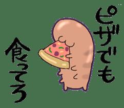 sea cucumber boys & sea cucumber girls sticker #439193