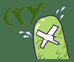 sea cucumber boys & sea cucumber girls sticker #439195