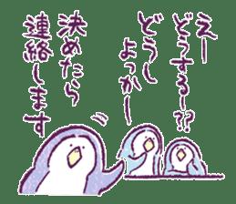 Clique Penguin 3 sticker #439399