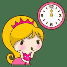 Princess Kayla, funny and charming sticker #439435