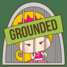 Princess Kayla, funny and charming sticker #439437
