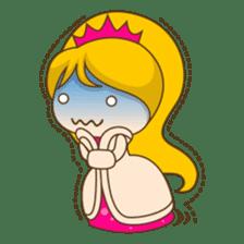 Princess Kayla, funny and charming sticker #439439