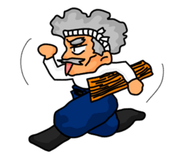 "A Japanese carpenter ""TAKA"" sticker #440776"