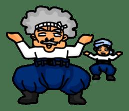 "A Japanese carpenter ""TAKA"" sticker #440798"