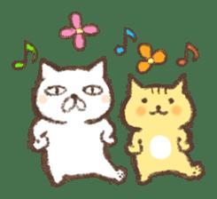 Tabby and Whitecat sticker #440857