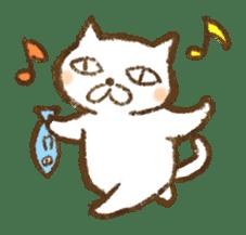 Tabby and Whitecat sticker #440858