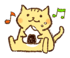 Tabby and Whitecat sticker #440860