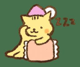 Tabby and Whitecat sticker #440862