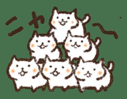 Tabby and Whitecat sticker #440867