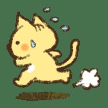 Tabby and Whitecat sticker #440870