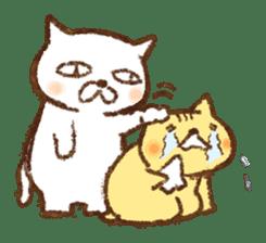 Tabby and Whitecat sticker #440871