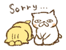 Tabby and Whitecat sticker #440872