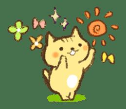 Tabby and Whitecat sticker #440874