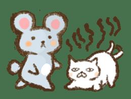Tabby and Whitecat sticker #440878