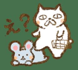 Tabby and Whitecat sticker #440879
