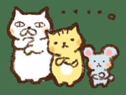 Tabby and Whitecat sticker #440880