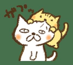 Tabby and Whitecat sticker #440881