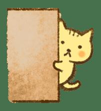 Tabby and Whitecat sticker #440885