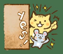 Tabby and Whitecat sticker #440888