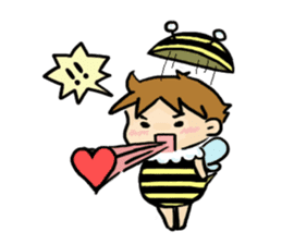 Prince of bees sticker #442625
