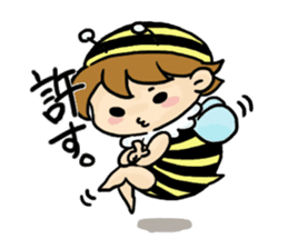 Prince of bees sticker #442637