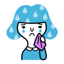 "Shy girl ""Ma-ko"" sticker #443179"