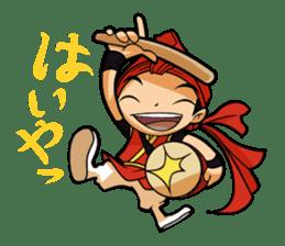 Eisa-kun & Mo-rechan sticker #443409