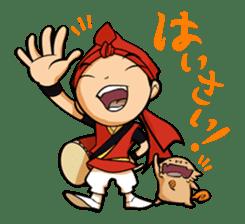 Eisa-kun & Mo-rechan sticker #443412
