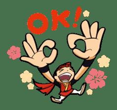 Eisa-kun & Mo-rechan sticker #443420