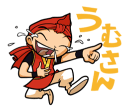 Eisa-kun & Mo-rechan sticker #443423