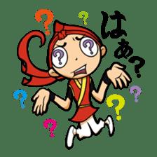 Eisa-kun & Mo-rechan sticker #443427
