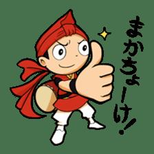 Eisa-kun & Mo-rechan sticker #443429