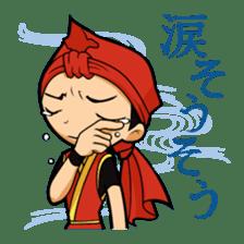 Eisa-kun & Mo-rechan sticker #443431