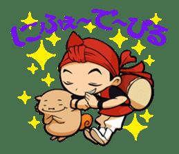 Eisa-kun & Mo-rechan sticker #443433