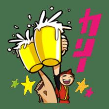 Eisa-kun & Mo-rechan sticker #443436
