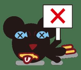 Sakaname Bear 1 sticker #443492
