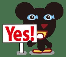 Sakaname Bear 1 sticker #443495