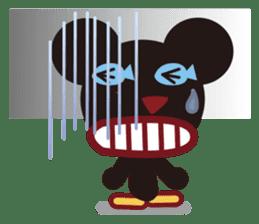 Sakaname Bear 1 sticker #443511