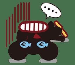 Sakaname Bear 1 sticker #443515