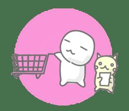 maru & nyanmaru sticker #443840