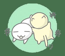 maru & nyanmaru sticker #443844
