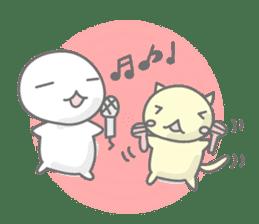 maru & nyanmaru sticker #443845