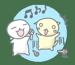maru & nyanmaru sticker #443846