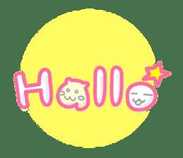 maru & nyanmaru sticker #443848